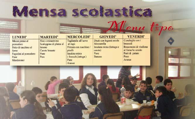 La mensa scolastica alla Pestalozzi