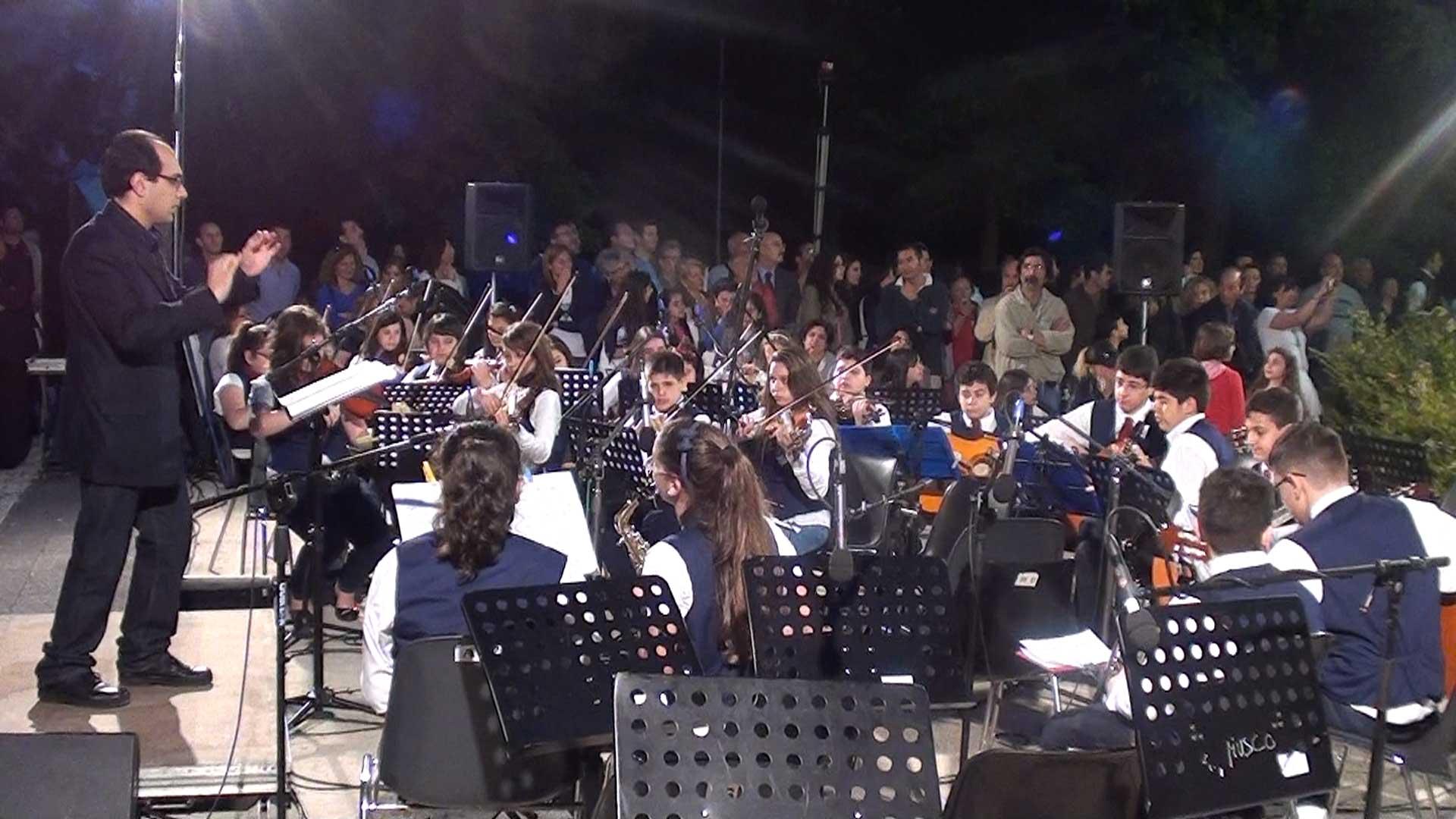 L'Orchestra della Pestalozzi diretta dal prof. Amici