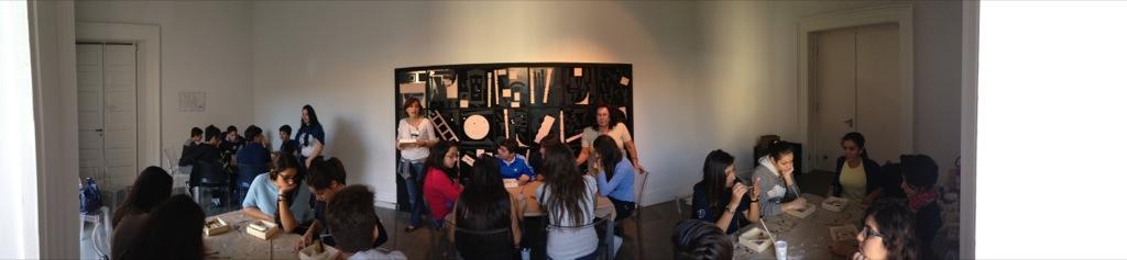 La scuola secondaria di primo grado alla mostra dell'artista Louise Nevelson