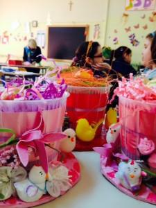 Le festività pasquali nelle attività creative degli alunni di scuola primaria