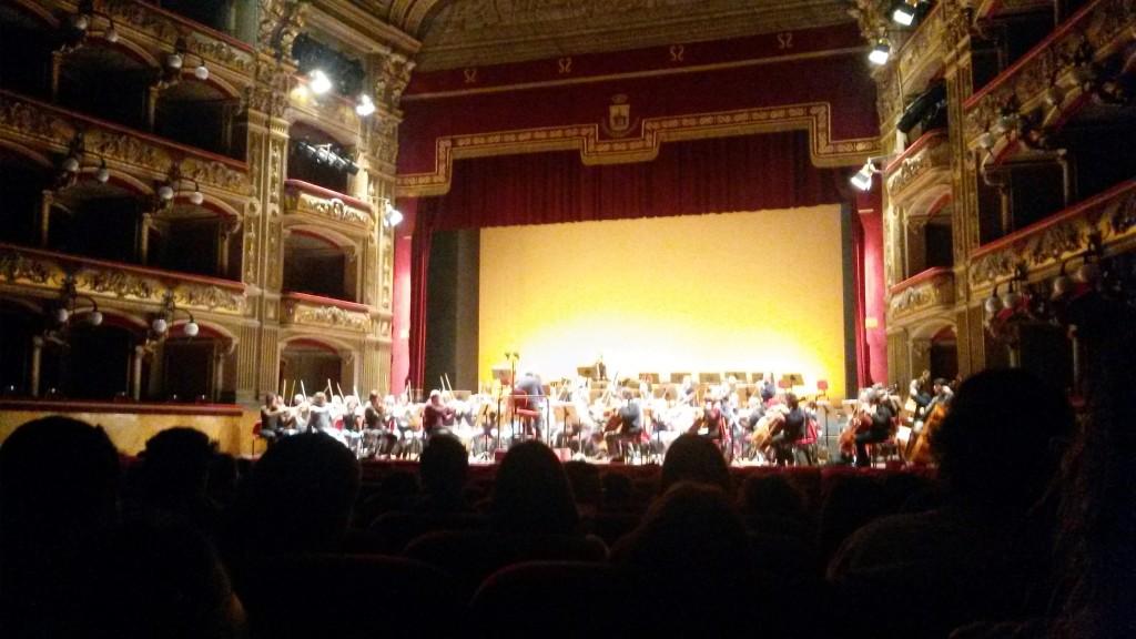 L'Orchestra del Teatro prova l'Ottava Sinfonia di Beethoven