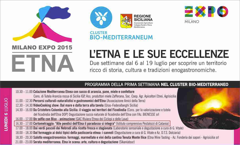 Milano Expo 2015: L'Etna e le sue eccellenze.