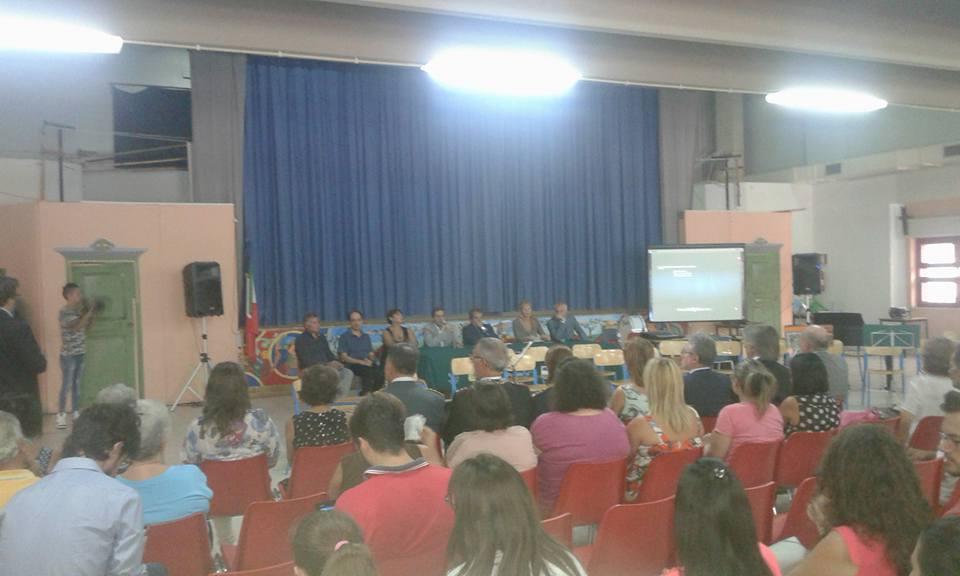 Il Sindaco all'Auditorium della Pestalozzi per l'inaugurazione della scuola superiore