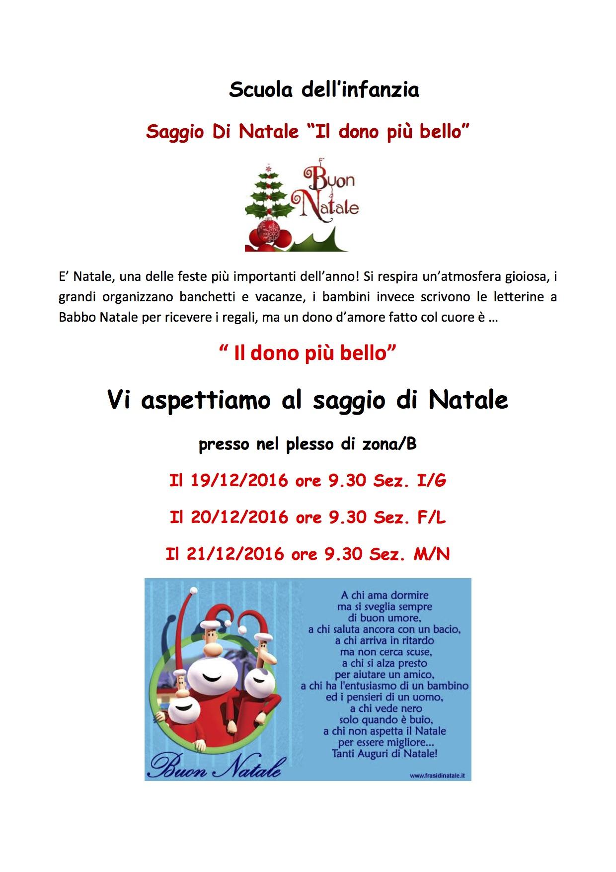 Invito Natale 2016 Zona B