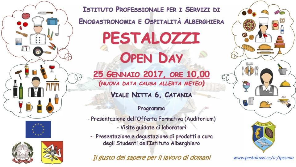 Open Day IPSSEOA Pestalozzi 2017 NEW