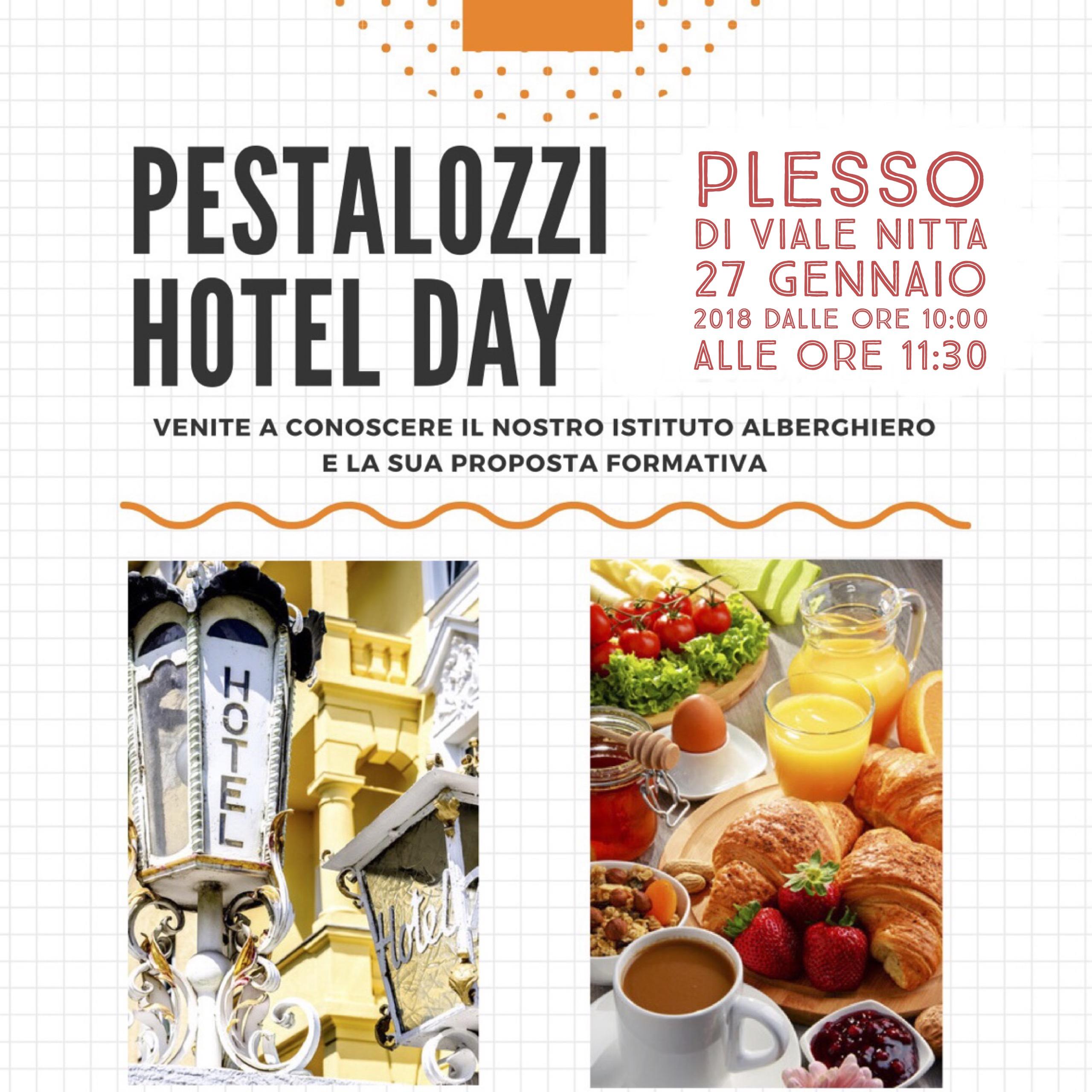 Invito Hotel Day I.O. Pestalozzi 27.01.2018