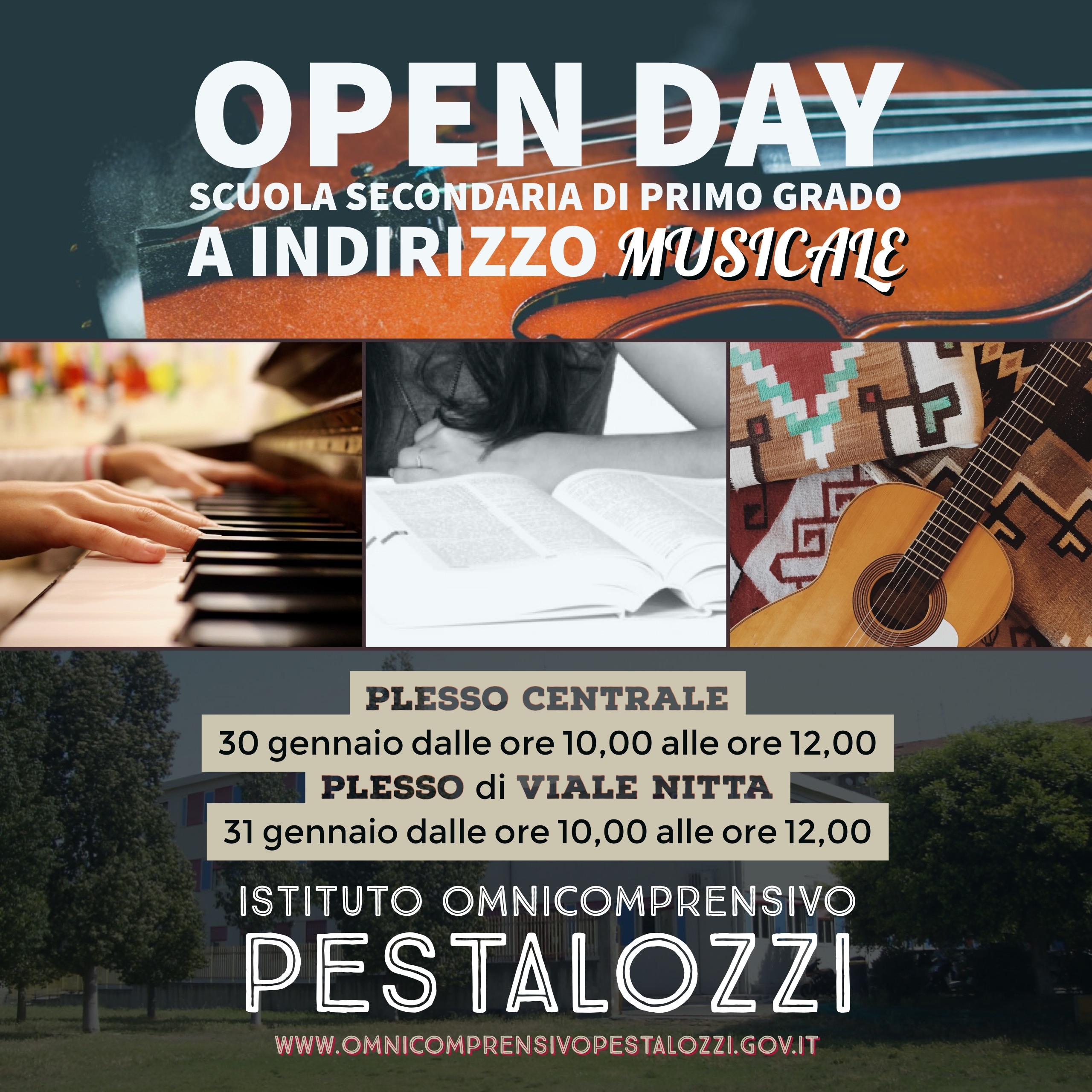 Open day indirizzo musicale