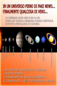 LOCANDINA OPEN DAY PRIMARIA PLESSO CENTRALE