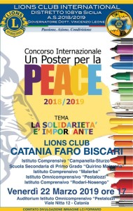 Locandina Premiazione CT Faro Biscari