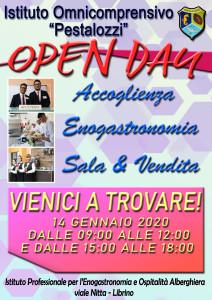 Pestalozzi Locandina OpenDay 16